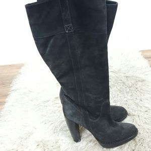 Michael Michael Kors Womens Kneee High Heels Boots